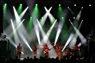 Lichteffekte auf der Clubtour mit E350