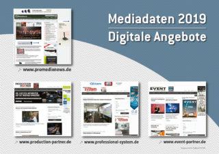 Mediadaten ProMediaNews Titelbild 2019
