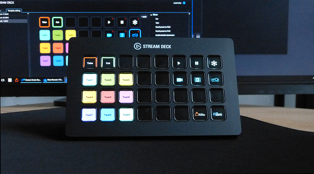 Modulo Player und Stream Deck