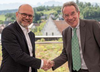 Gerhard Stübe (l.) und Christian Mutschlechner