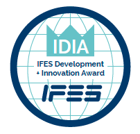 IFES Innovation + Development Award (IDIA) Logo