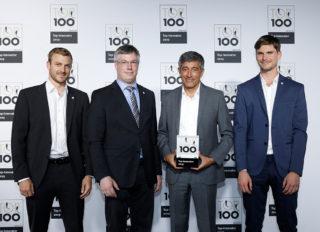 Movecat beim Top 100 Award ausgezeichnet