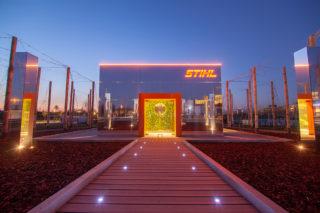 Stihl Markenwelt im Spiegelpavillon
