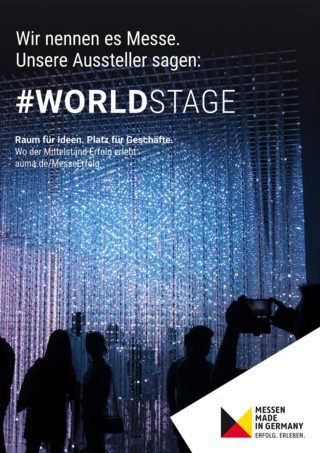 #MesseErfolg - Motiv Worldstage - Deutsch - JPG