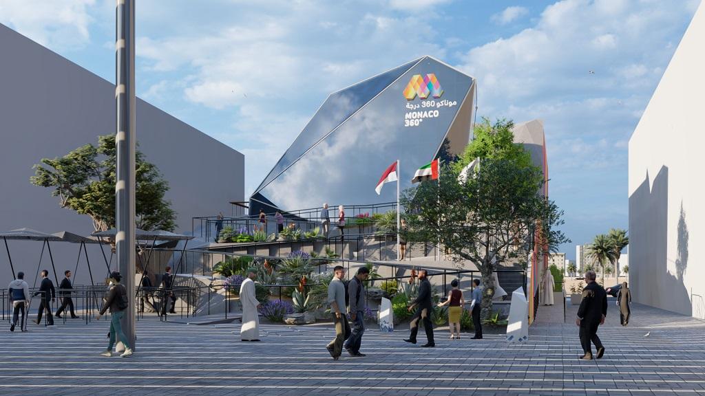 Monegassischer Pavillon EXPO 2020 Dubai