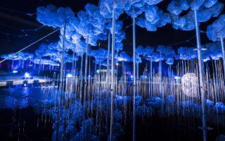 Kristallwolken Lichtfestival 2018 Swarovski Kristallwelten