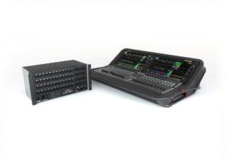 Avantis Digitalmixer mit GX4816 Remote Audio Expander