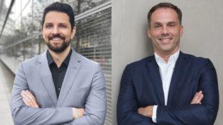 Hannes Richter (l.) und Timo Augustin