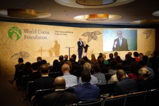 Rede von WCF Präsident Richard Skobey beim World Cocoa Foundation 2019 Partnership Meeting