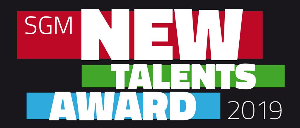 Logo SGM New Talents Award 2019