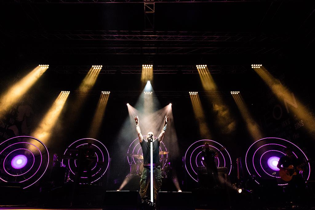 BT-Nonabeam auf der Rea Garvey Neon Tour