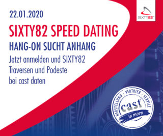 Sixty82 Speed-Dating bei cast