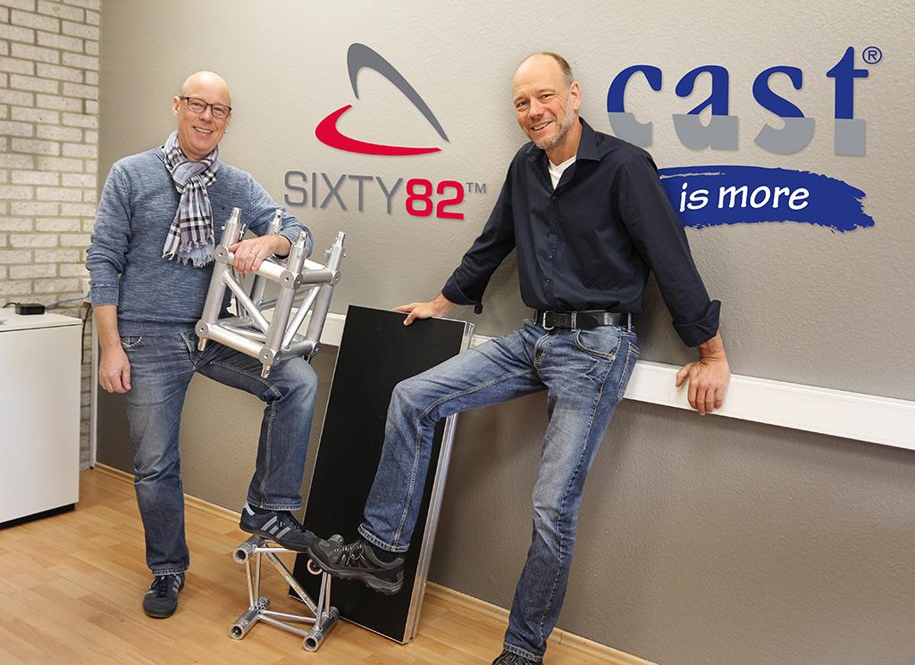 Arved Hammerstädt und Heinz Siller