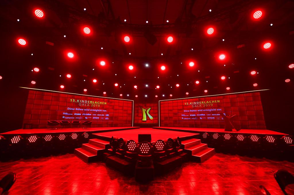 Bühne Kinderlachen Gala 2019
