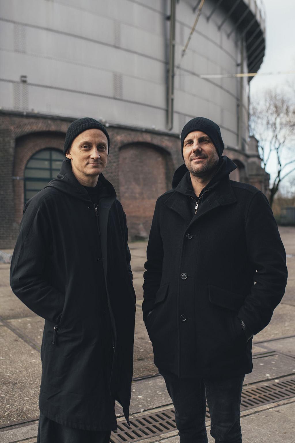 Kanding Ray und Christopher Bauder