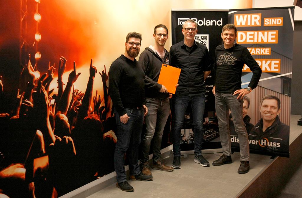 Huss Licht und Ton und Roland Pro A/V