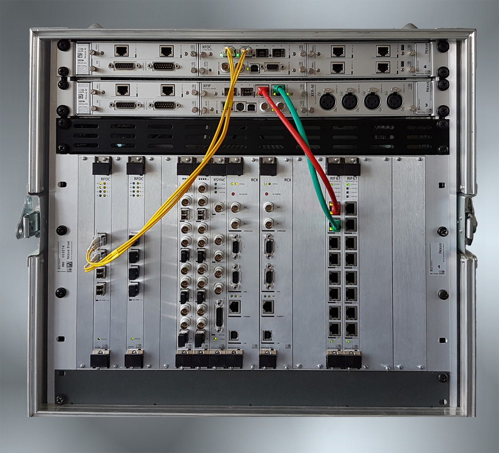 Verbindungen am Nexus