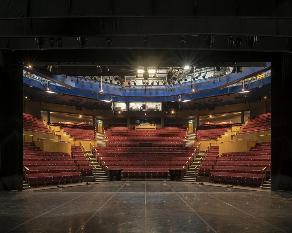 Zuschauerränge im Leeds Playhouse