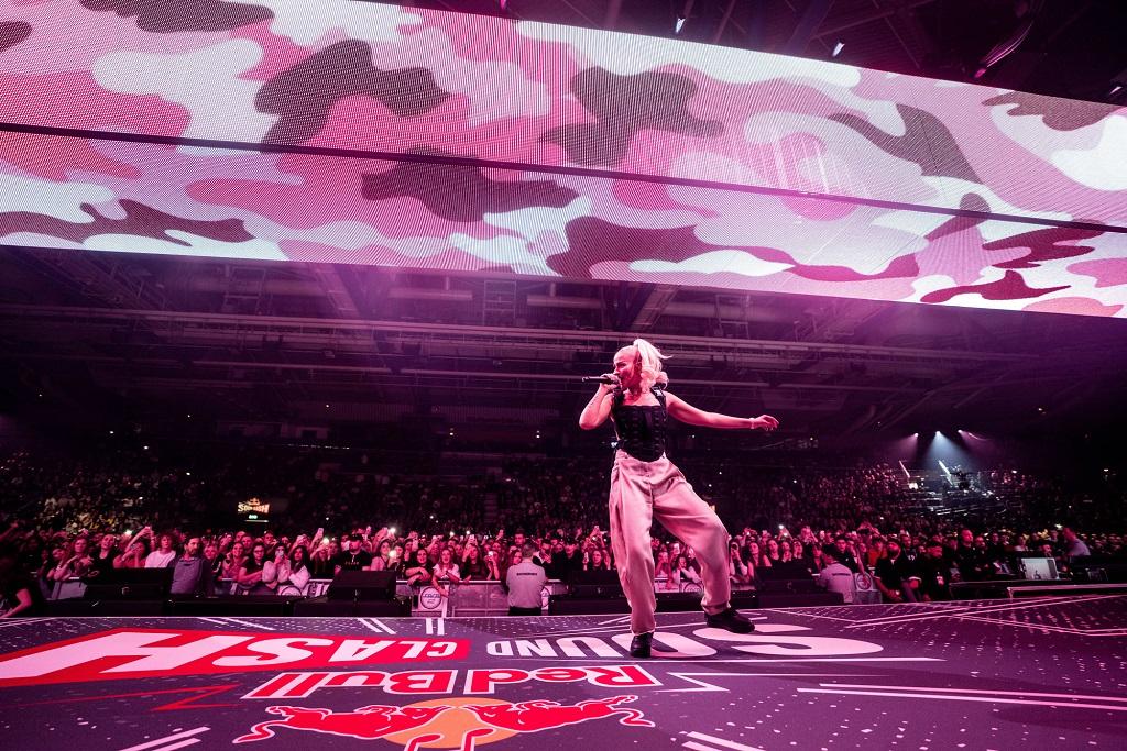 Loredana beim Red Bull Soundclash 2019