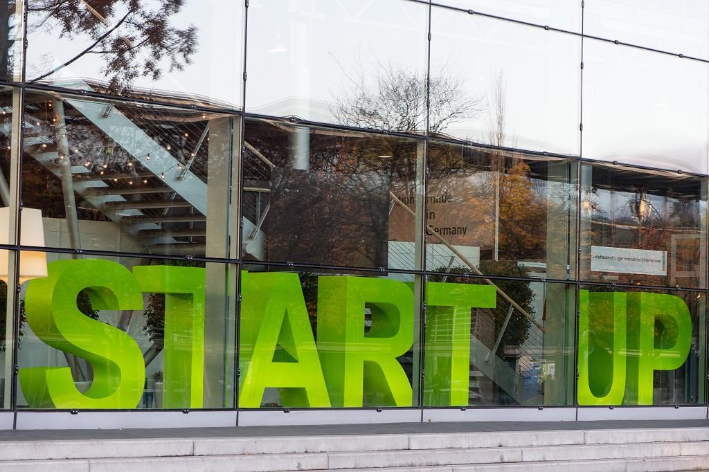 Start-up-Area auf der Agritechnica