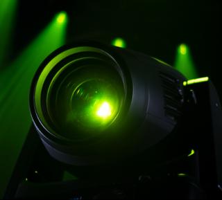 Ayrton grüner Scheinwerfer