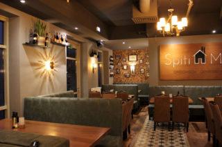 Audioinstallation im Restaurant Spit Mas