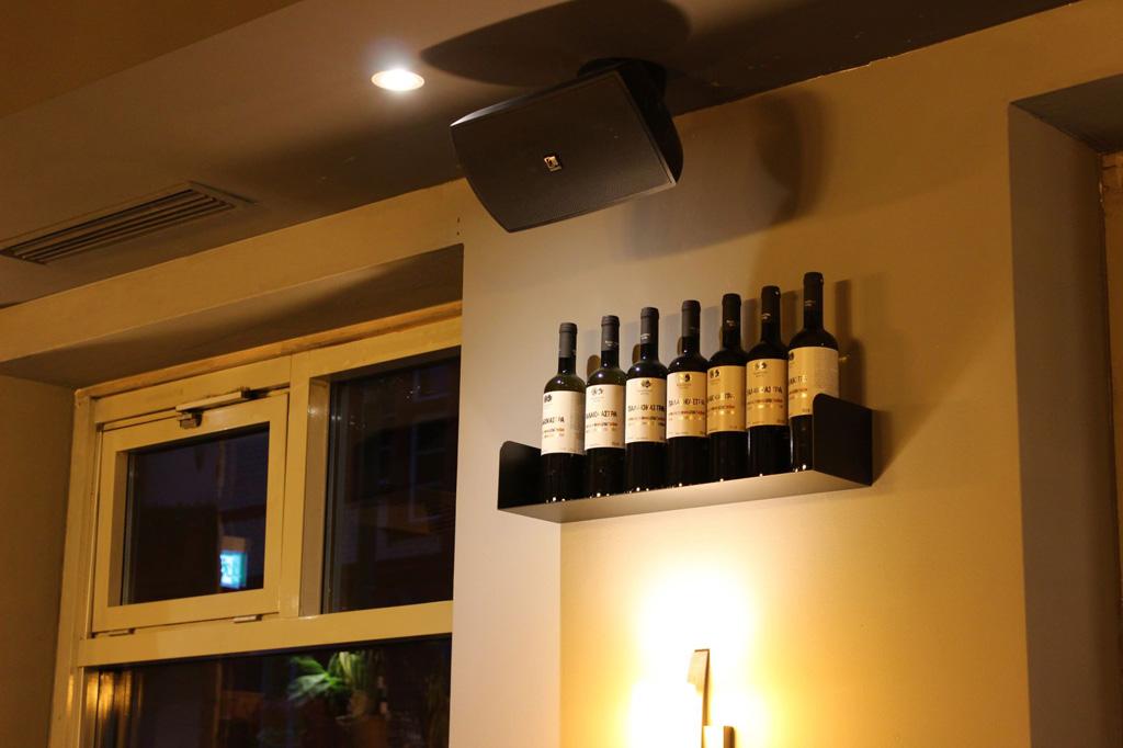 Audioinstallation im Restaurant Spiti Mas