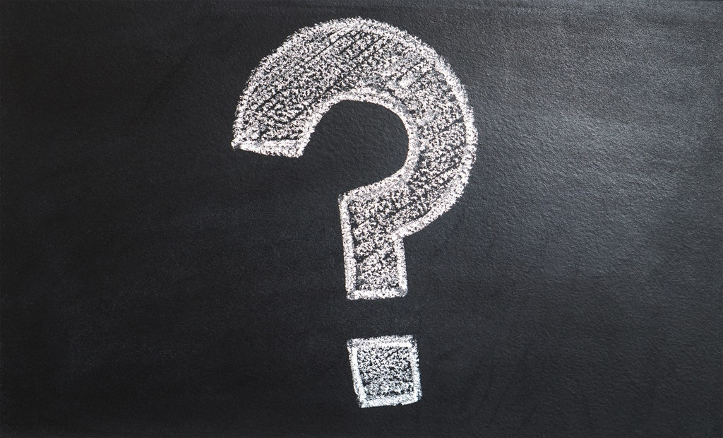 Fragezeichen-Frage