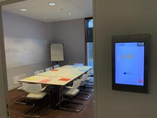 Digital Signage für die Belegung von Seminarräumen