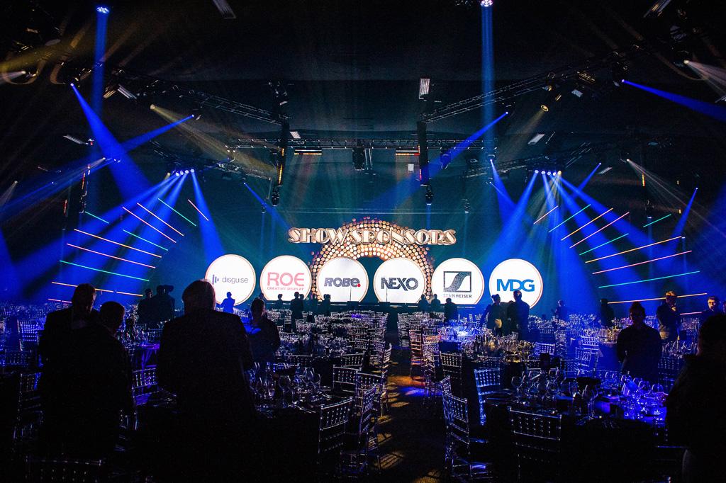 Bühnendesign TPI Awards