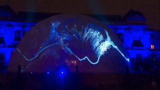 Virtual Harmony: 360° Dome Projection