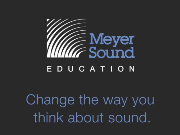 Meyer Sound Education Logo