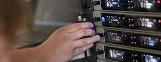 Funksender und- empfänger