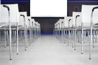 Stühle-Kongress-Tagung