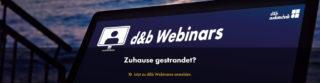 Webinarangebot von d&b audiotechnik