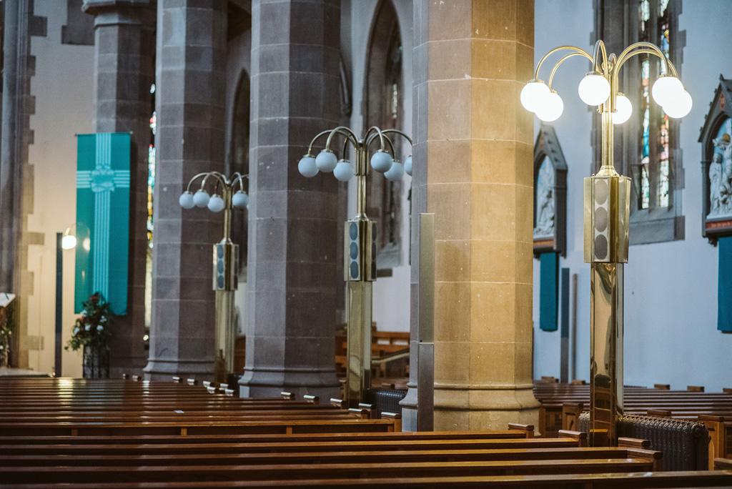 Lautsprecher in der Kirche