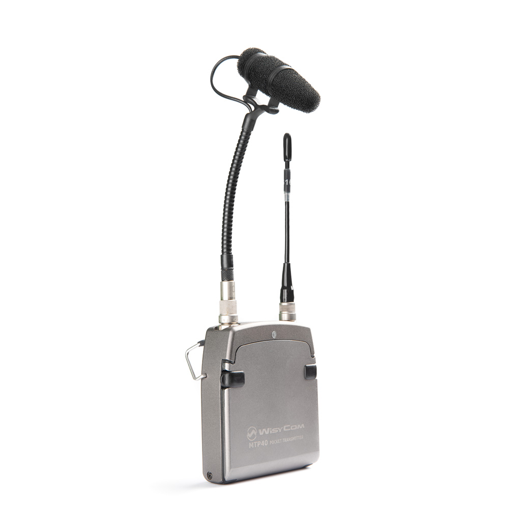Mikrofon auf dem Transmitter