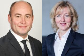 Bernd Jablonowski und Petra Cullmann