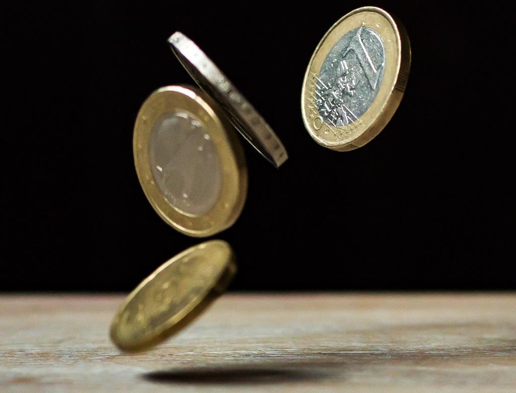 Euro-Münze-Geld-Währung