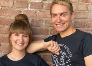 Laura Kuhlen und Meik Gudermann