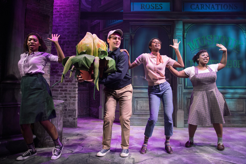 "Cast von ""Little Shop of Horrors"""