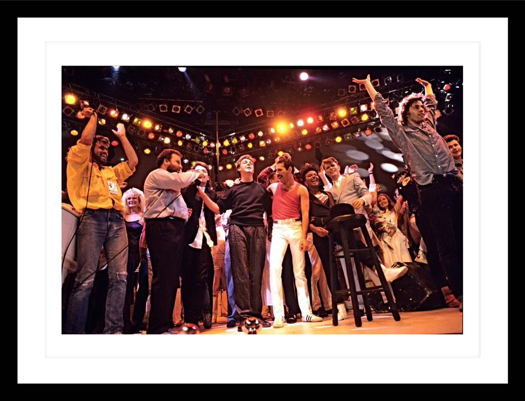 Motiv Live Aid Abschluss