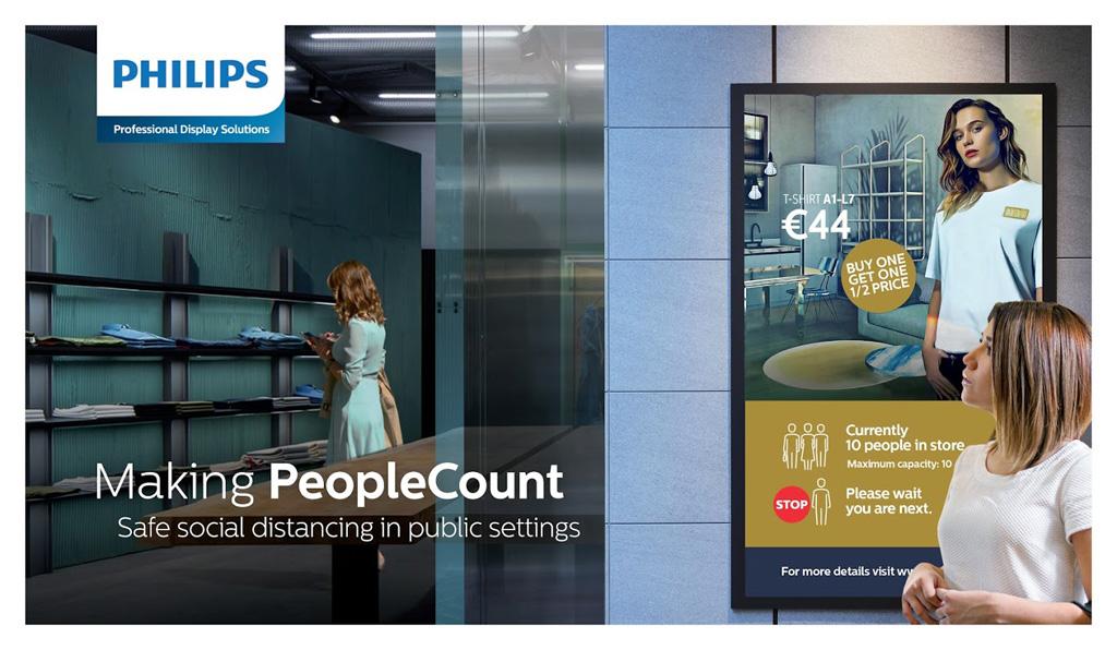 People Count System von Philipps
