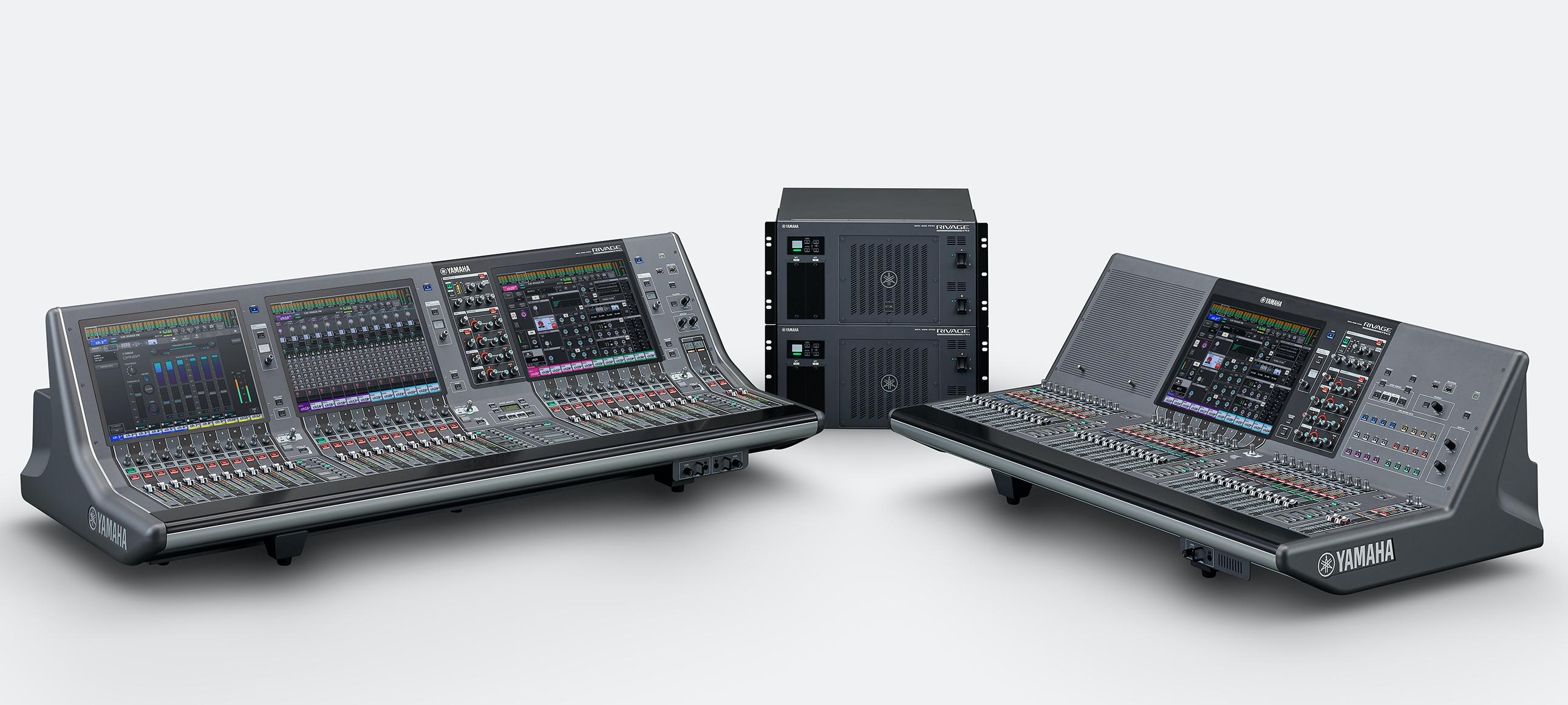 Yamaha RIVAGE PM5 and RIVAGE PM3