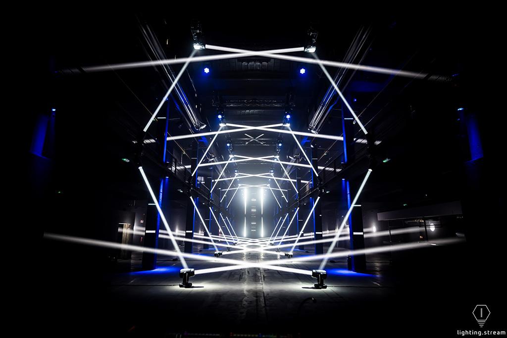Lux Partum Lichtkunstinstallation