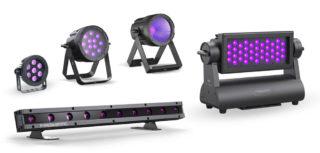 Prisma Serie mit UV-Lampen
