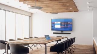 Konferenzraum mit Stem Audio System