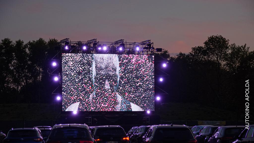 Lichteinsatz bei Rammstein-Film im Autokino