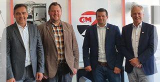Andreas Diekmann, Michael Ehrlich, Patric Landes, Harald Behlich (von links)