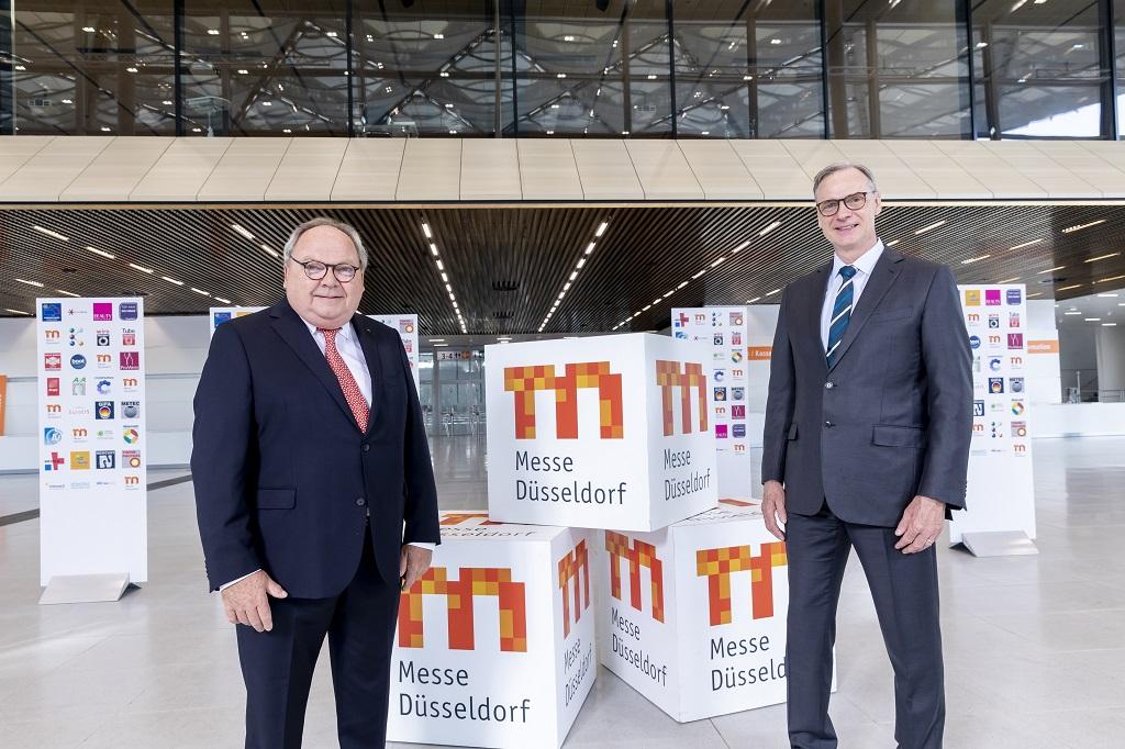 Werner M. Dornscheidt (l.) und Wolfram N. Diener